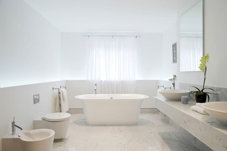 White Bathroom Ideas 218