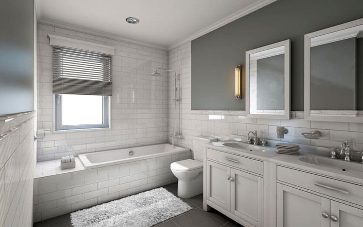 White Bathroom Ideas 219