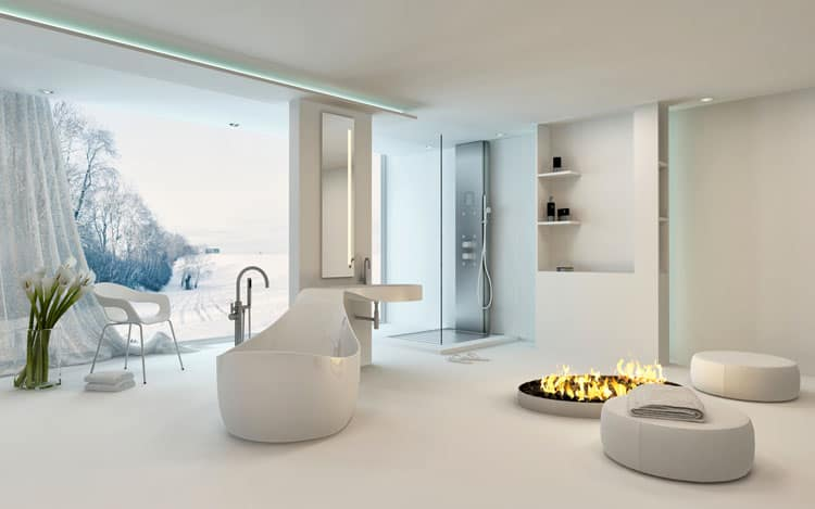 White Bathroom Ideas 226
