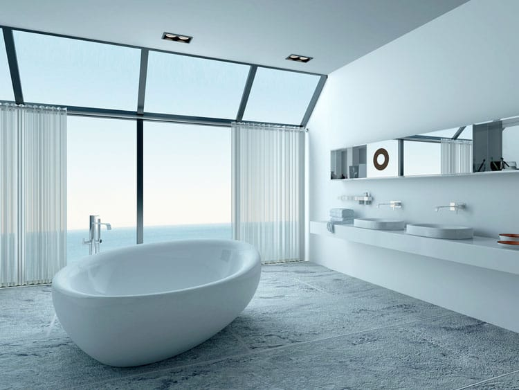 White Bathroom Ideas 235