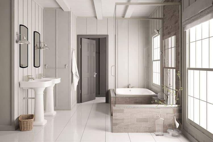 White Bathroom Ideas 242