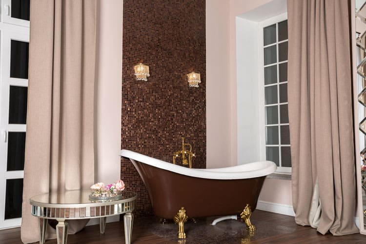 Modern and Antique Clawfoot Tub Bathroom Ideas 7