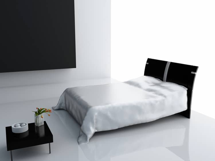 38 Black and White Bedrooms 186