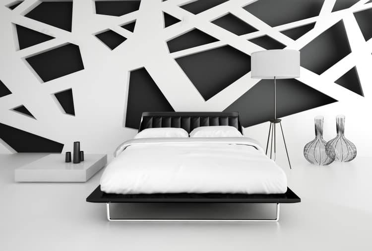 38 Black and White Bedrooms 188