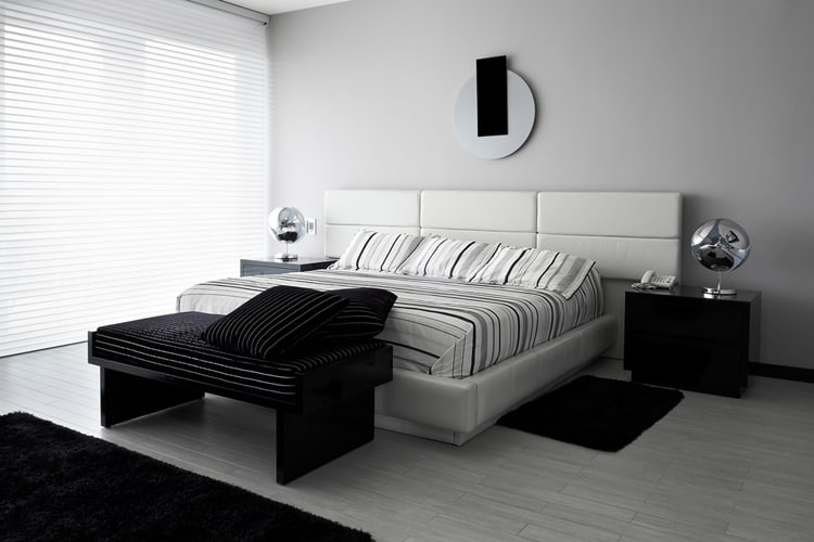 38 Black and White Bedrooms 189