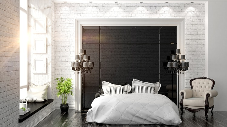 38 Black and White Bedrooms 190