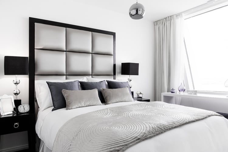 38 Black and White Bedrooms 192