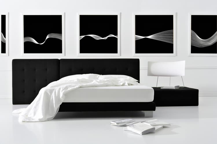 38 Black and White Bedrooms 199