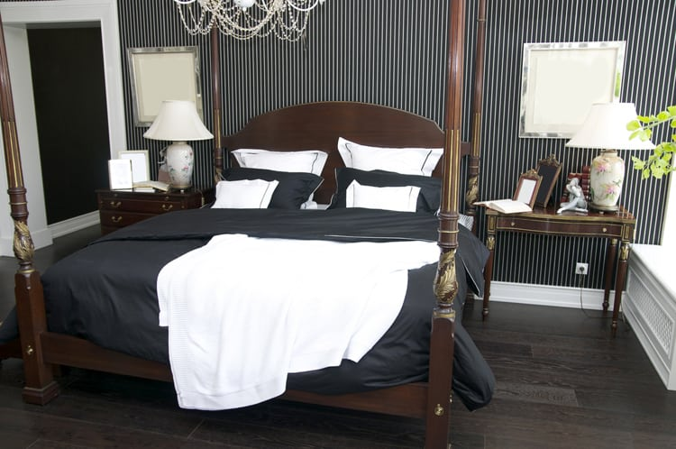 38 Black and White Bedrooms 204