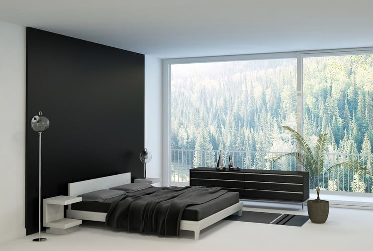 38 Black and White Bedrooms 207