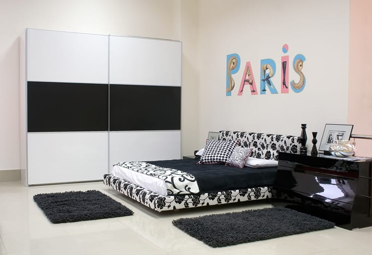 38 Black and White Bedrooms 209