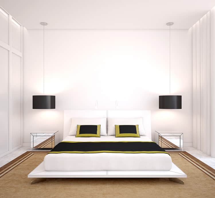 38 Black and White Bedrooms 213
