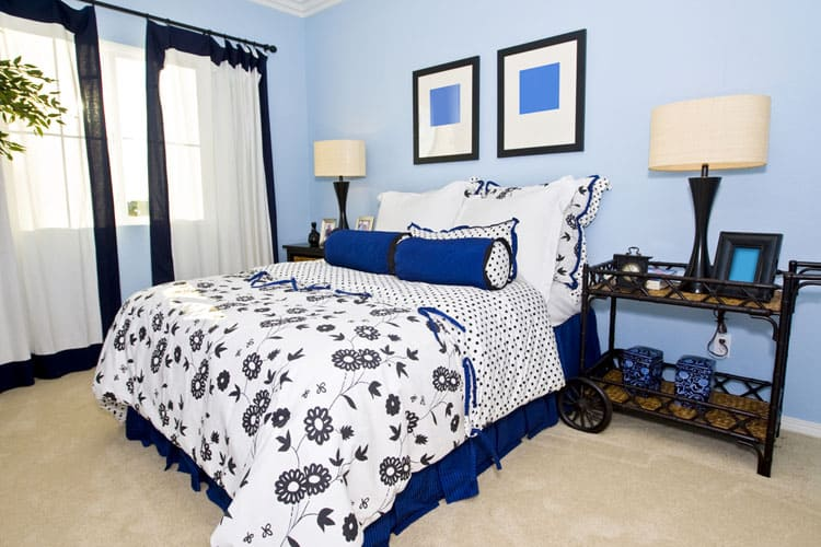 Blue Bedroom Ideas 136