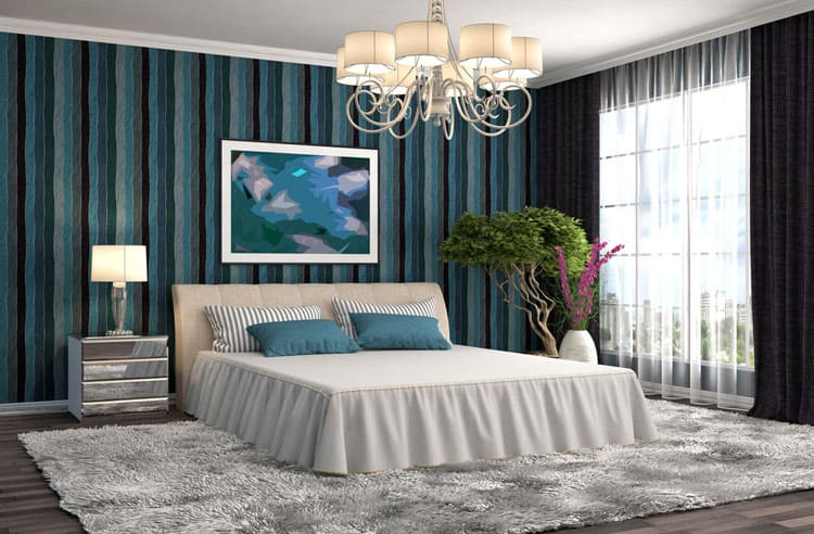 Blue Bedroom Ideas 143