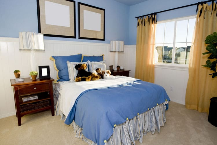 Blue Bedroom Ideas 152