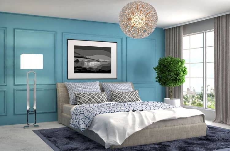 Blue Bedroom Ideas 154