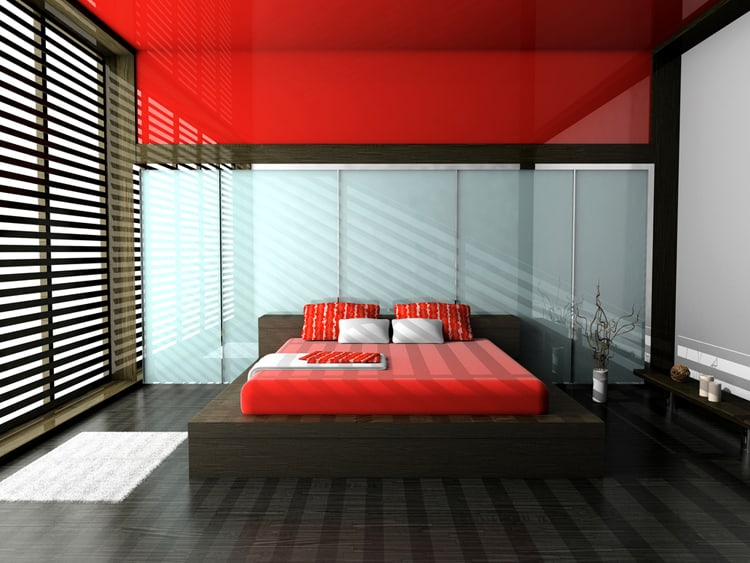 20 Red Bedrooms 2
