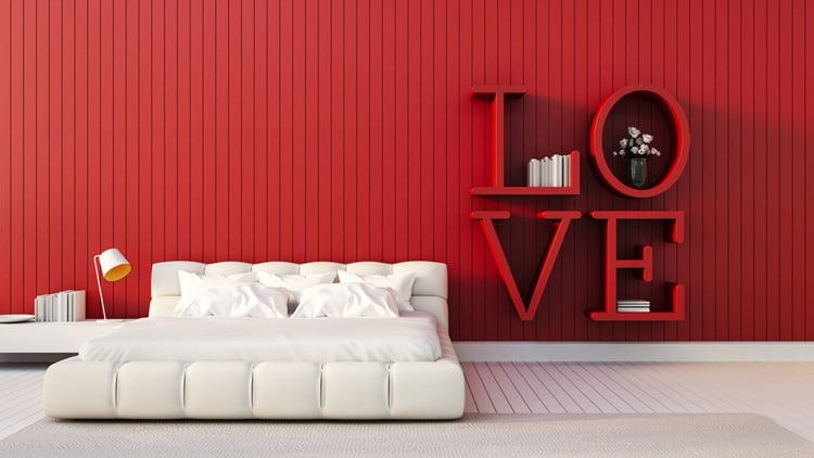 20 Red Bedrooms 3