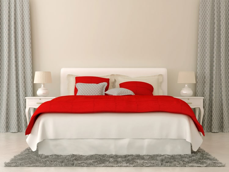 20 Red Bedrooms 7