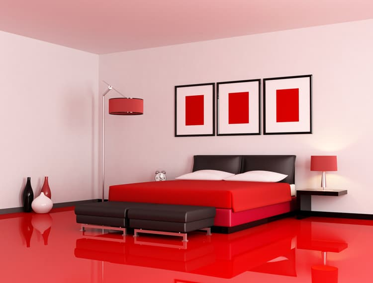 20 Red Bedrooms 12