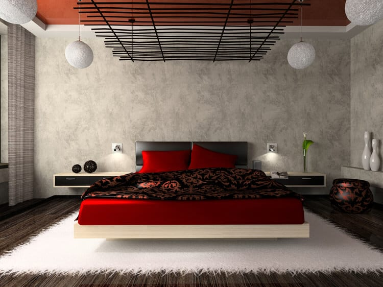 41 Fantastic Red and Black Bedrooms 87