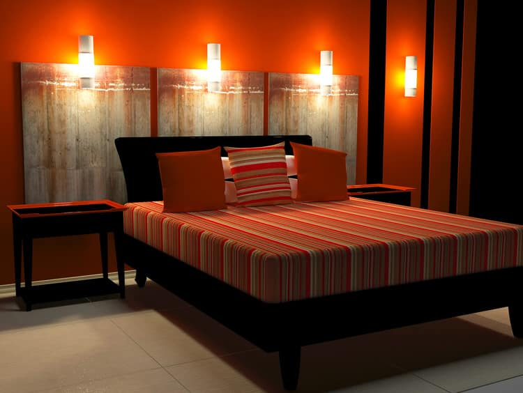 41 Fantastic Red and Black Bedrooms 98