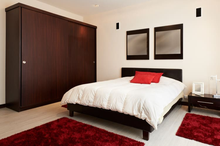 41 Fantastic Red and Black Bedrooms 106