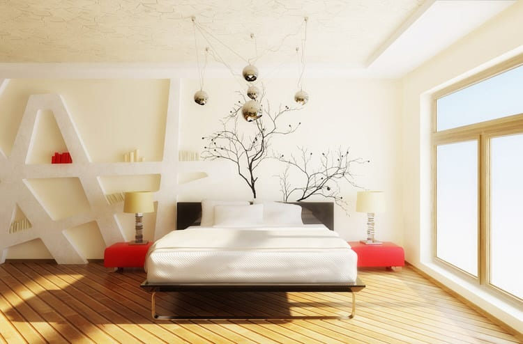 41 Fantastic Red and Black Bedrooms 115