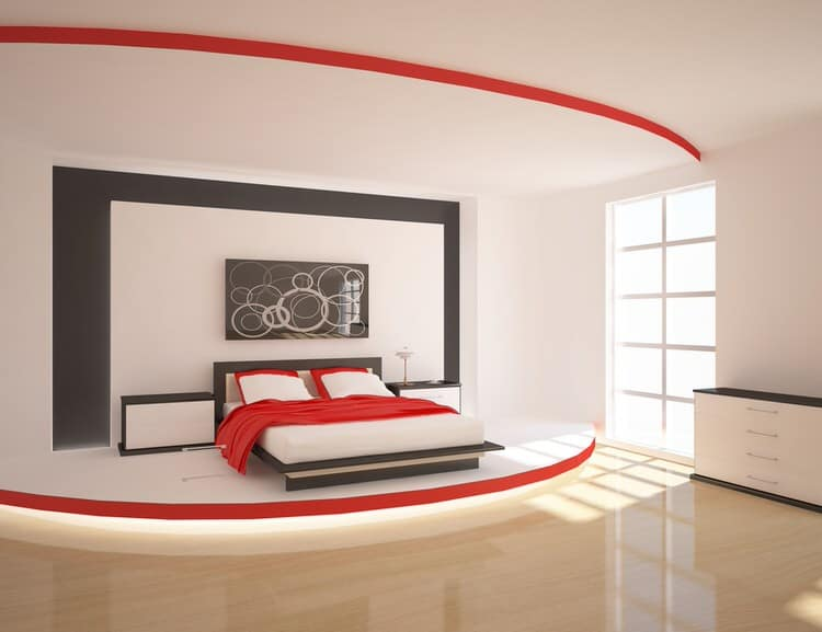 41 Fantastic Red and Black Bedrooms 119