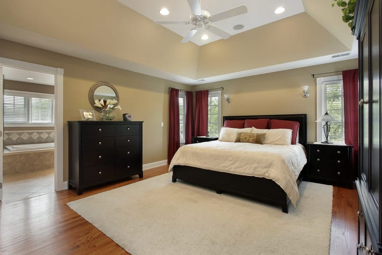 41 Fantastic Red and Black Bedrooms 121