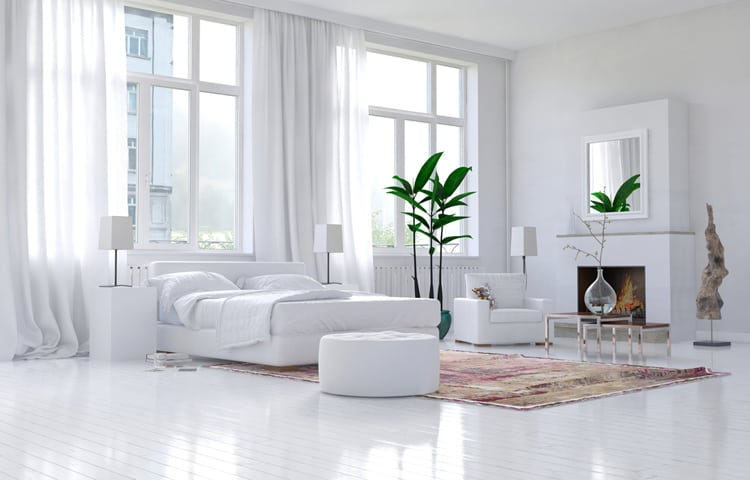 White Bedroom Decorating Ideas 1