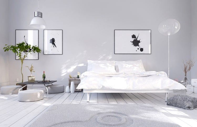 White Bedroom Decorating Ideas 8