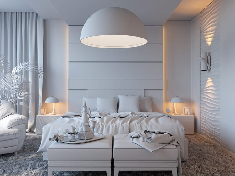White Bedroom Decorating Ideas 12
