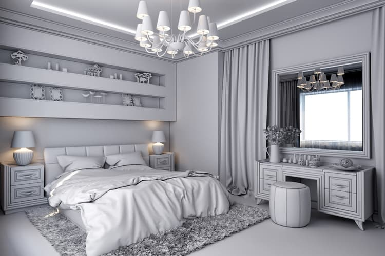 White Bedroom Decorating Ideas 23