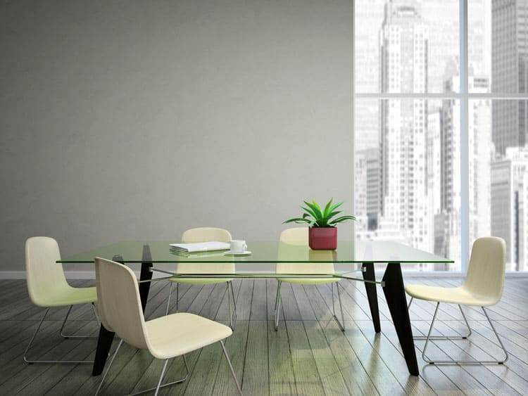 Modern Glass Dining Table 4