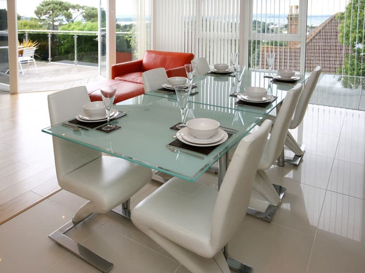 Modern Glass Dining Table 13