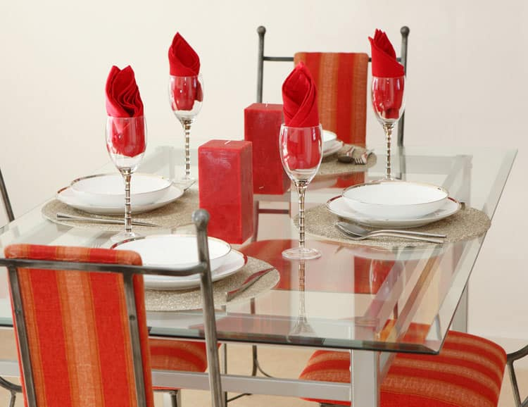 Modern Glass Dining Table 14