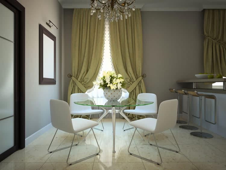 Modern Glass Dining Table 6