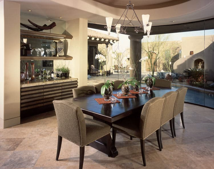 Modern Dining Room Decorating Ideas 6