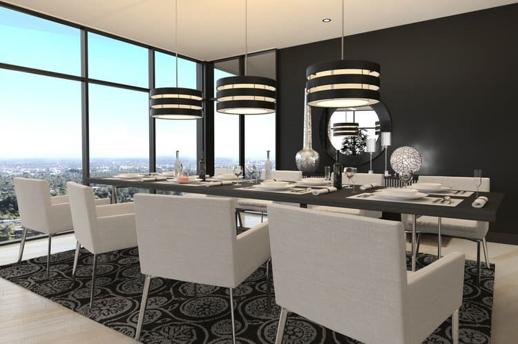 Modern Dining Room Decorating Ideas 13