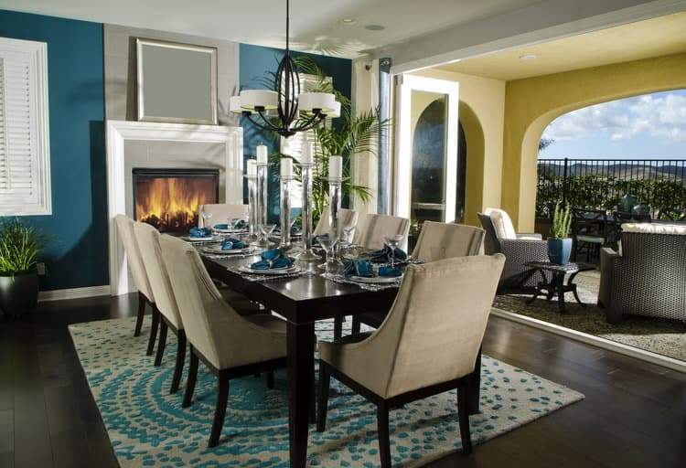 Modern Dining Room Decorating Ideas 22