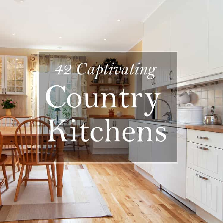 Modern country kitchen ideas 1