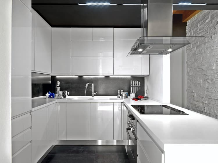 Bright Modern Kitchens Ideas 11