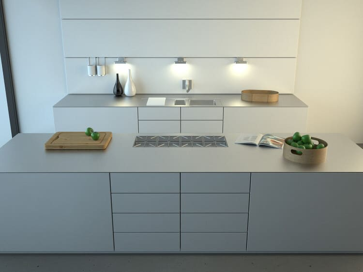 Bright Modern Kitchens Ideas 46