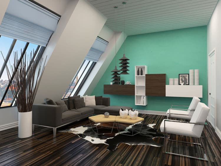 Accent Wall Living Room - 11 best Samples 2