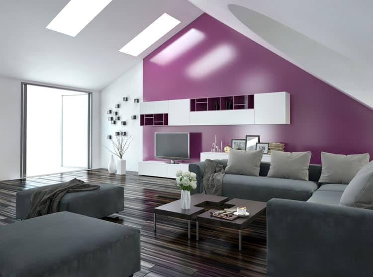 Accent Wall Living Room - 11 best Samples 3