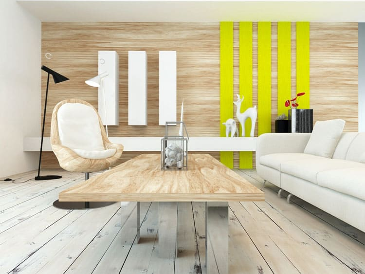Accent Wall Living Room - 11 best Samples 4