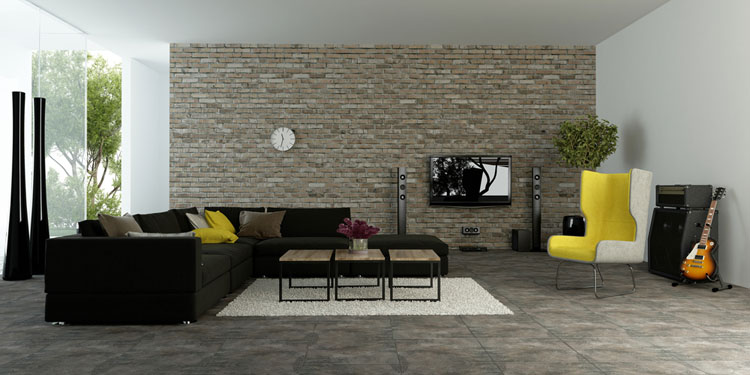 Accent Wall Living Room - 11 best Samples 5
