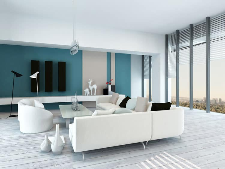 Accent Wall Living Room - 11 best Samples 6