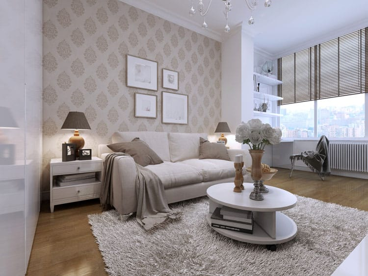 Accent Wall Living Room - 11 best Samples 7